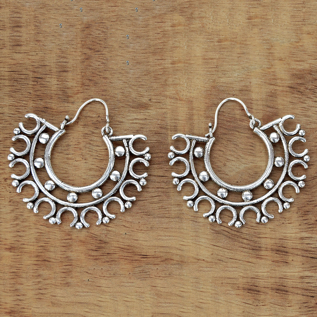 Gypsy creole earrings