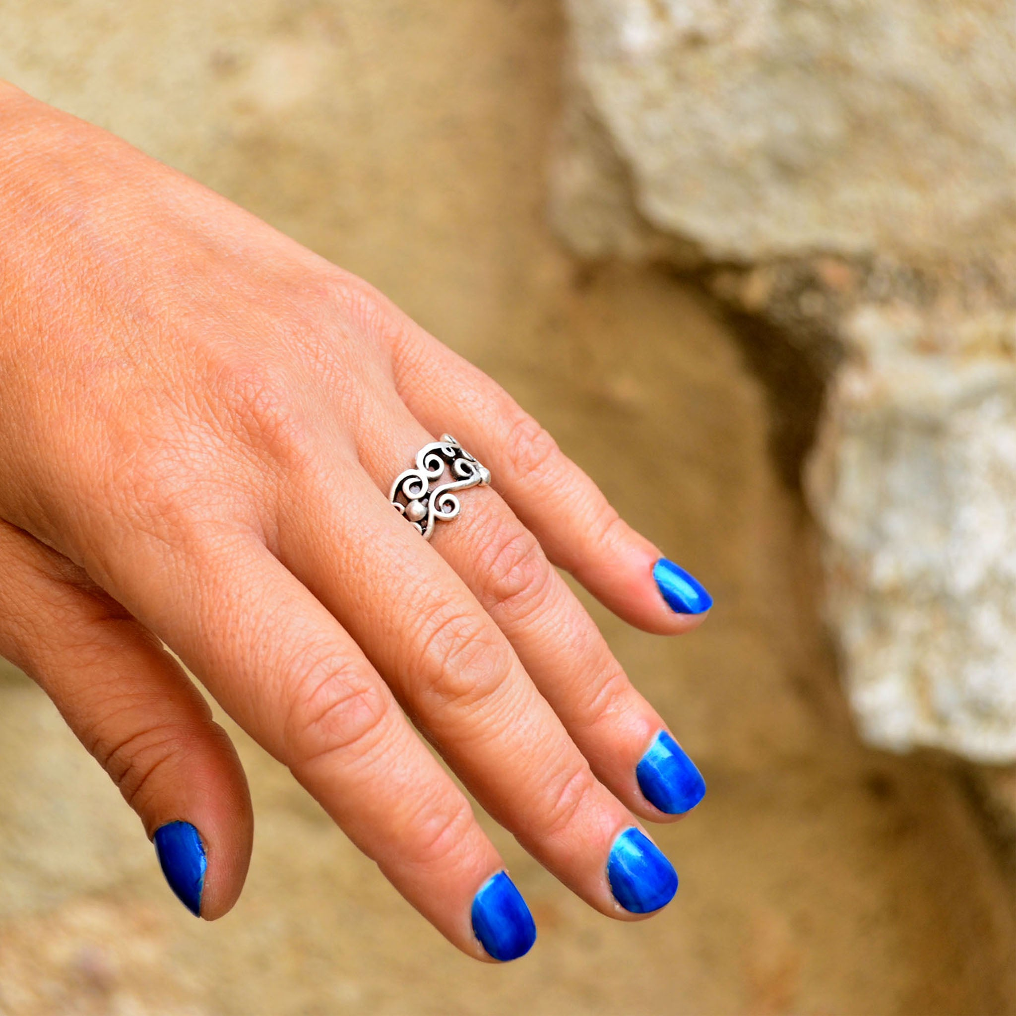 Ethnic turkish ring
