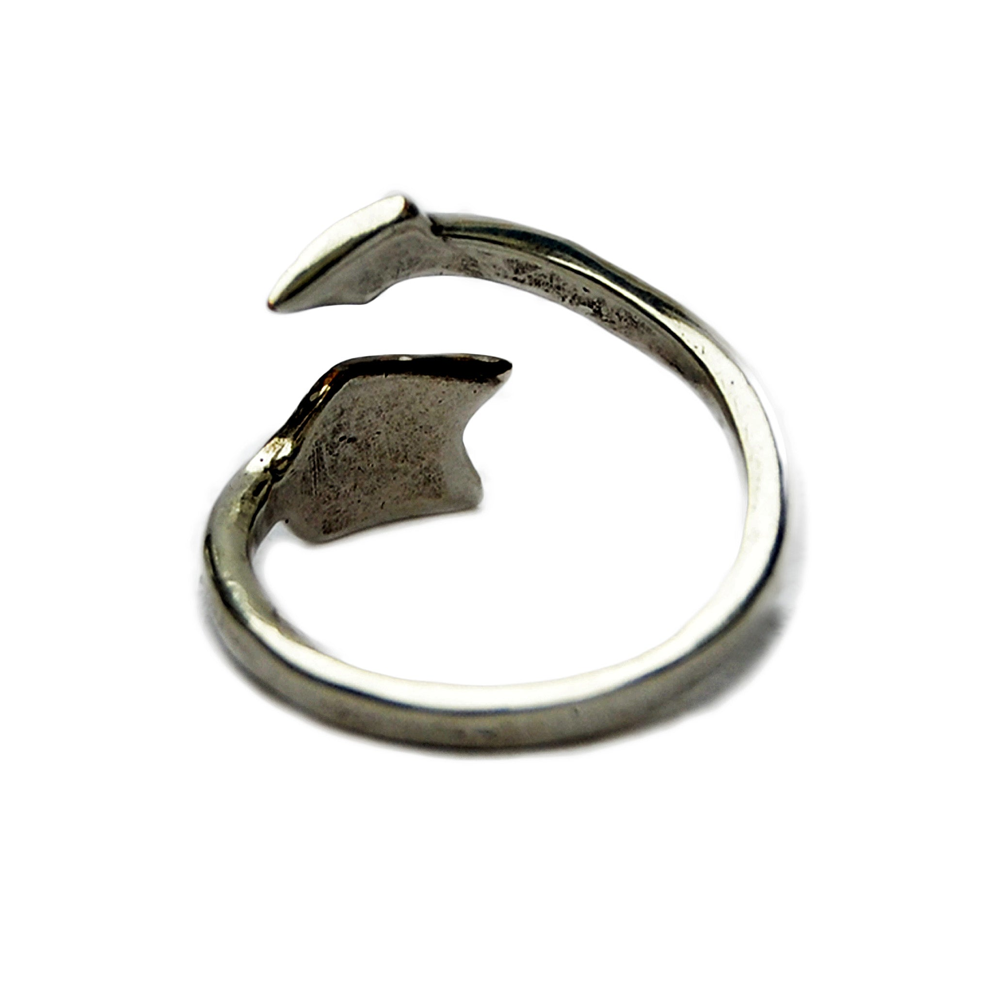 Boho arrow ring