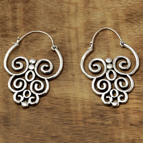 Large Tribal Earrings