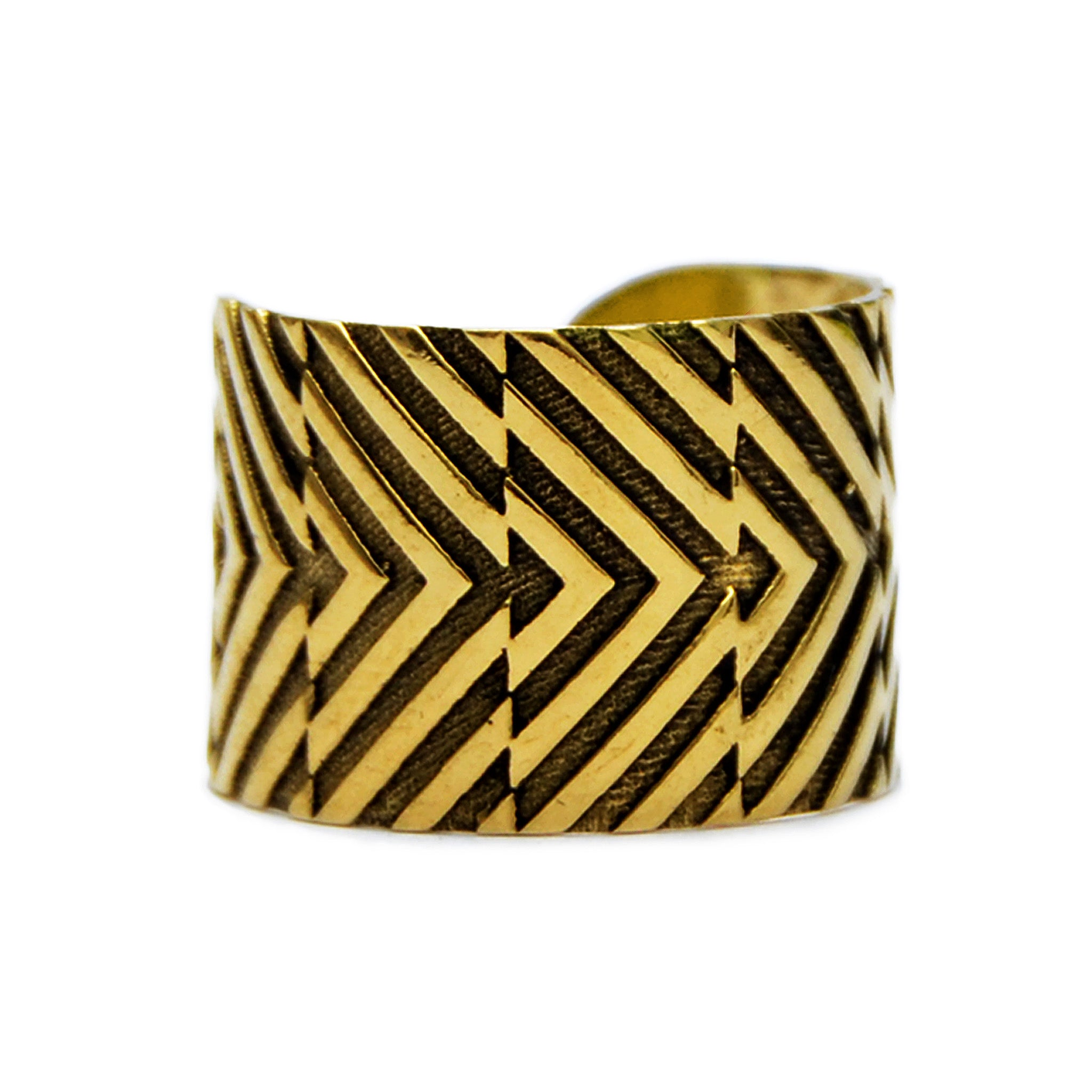 Brass adjustable ring
