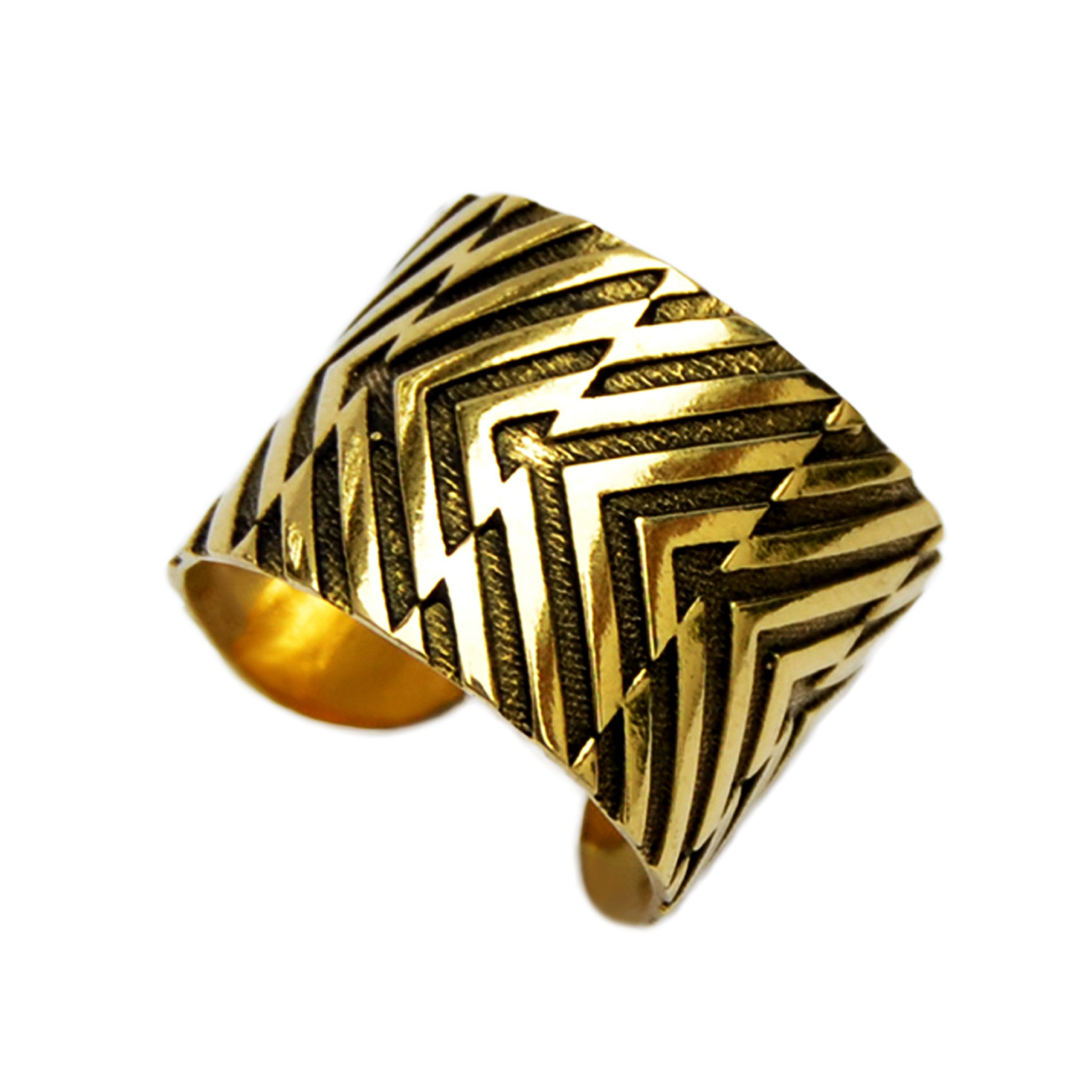 Tribal band ring
