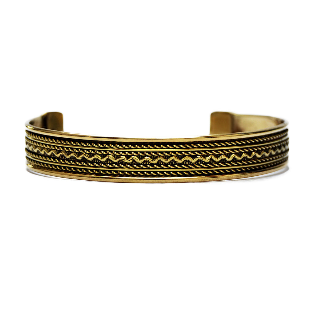 Brass indian bracelet
