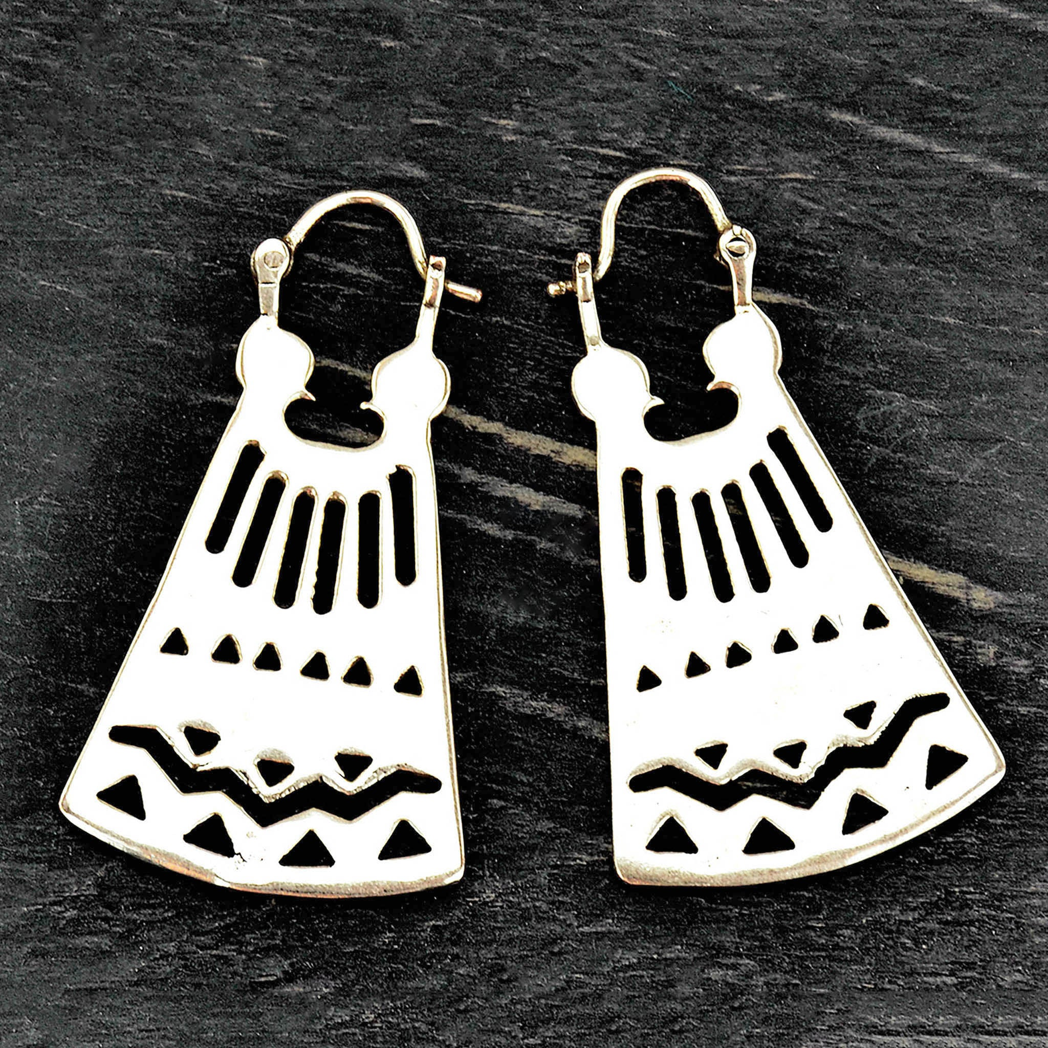 Ethnic aztec earrings