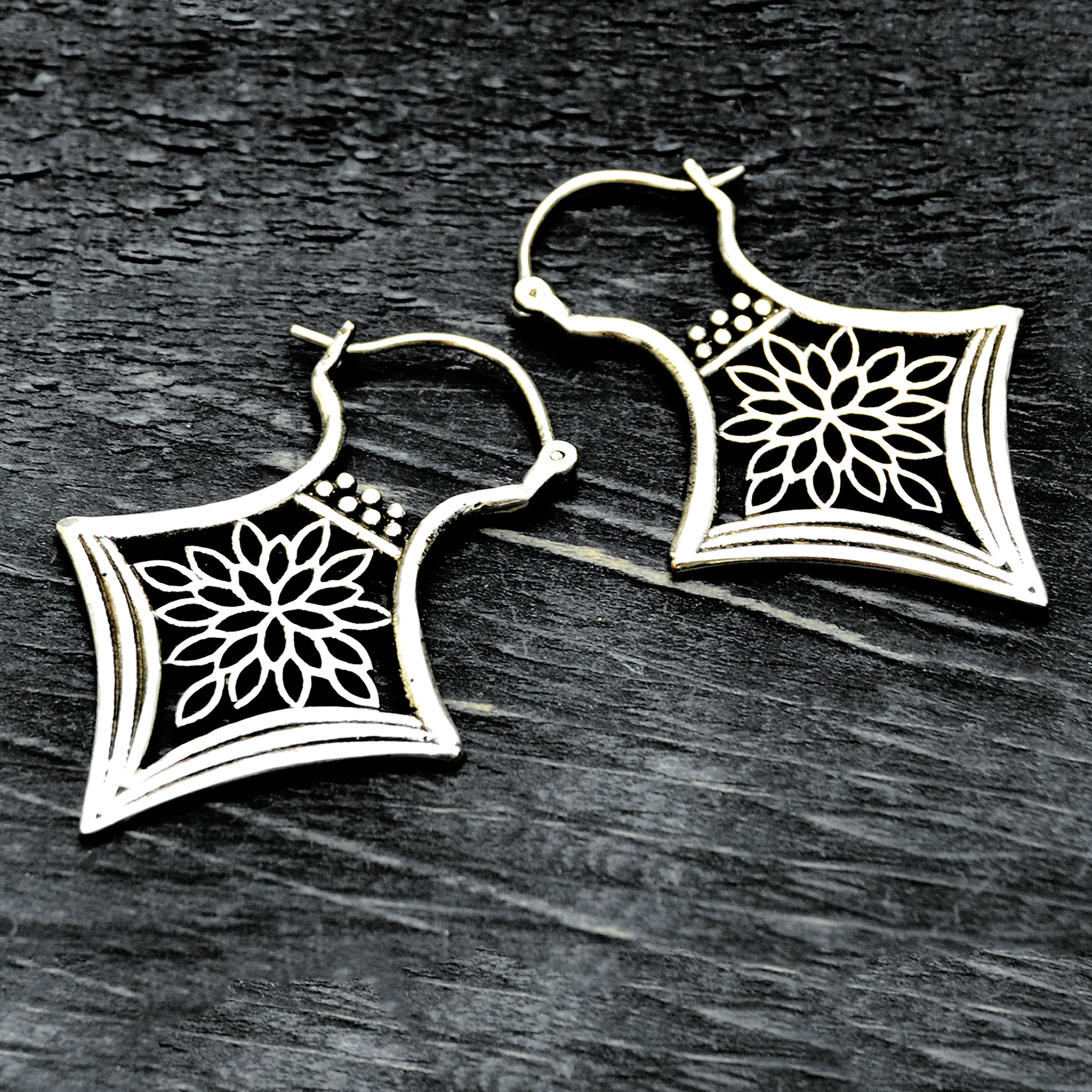 Indian Silver Earrings