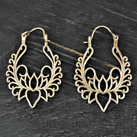 Bohemian Filigree Earrings
