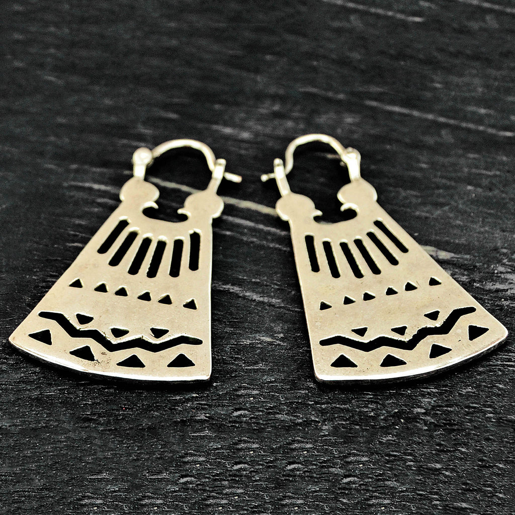 Antique mexican earrings