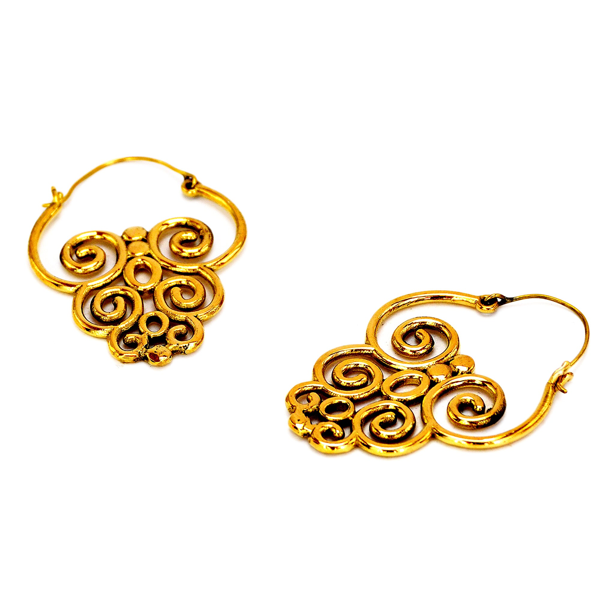 Ethnic festival earrings