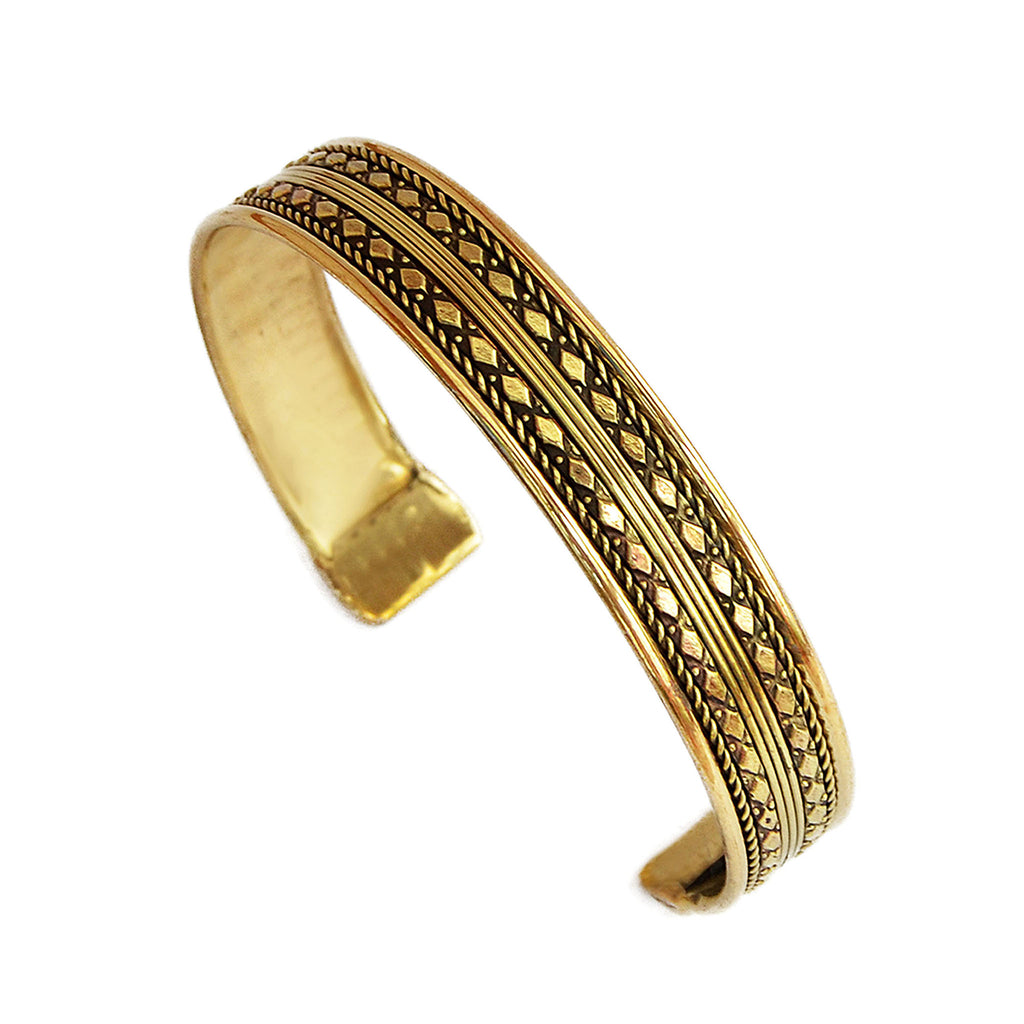 Ethnic gypsy bangle