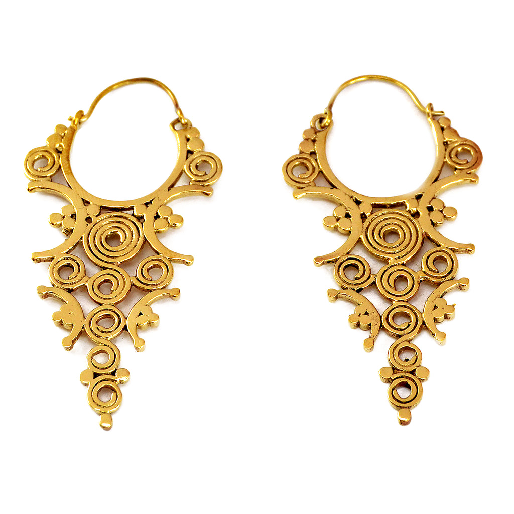 Ethnic indian earrings