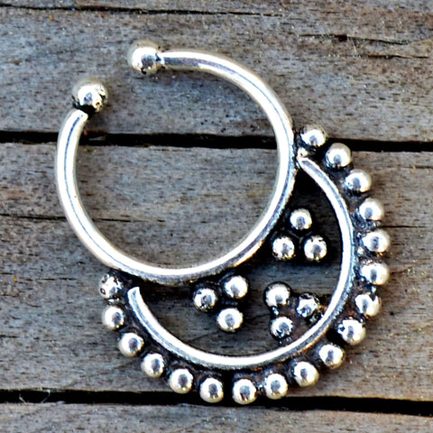 Ornate Septum Ring