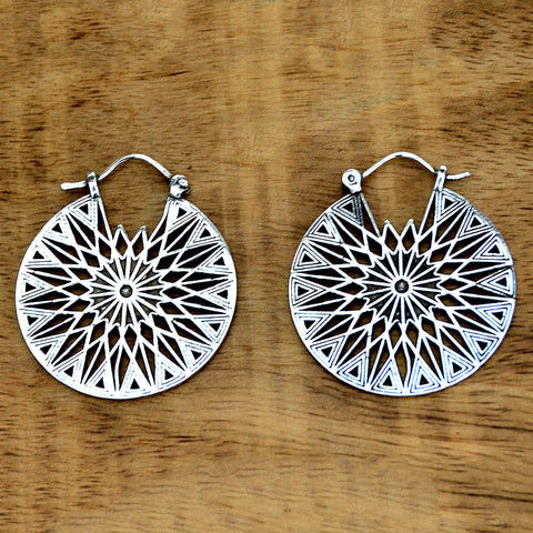 Tribal Sun Earrings