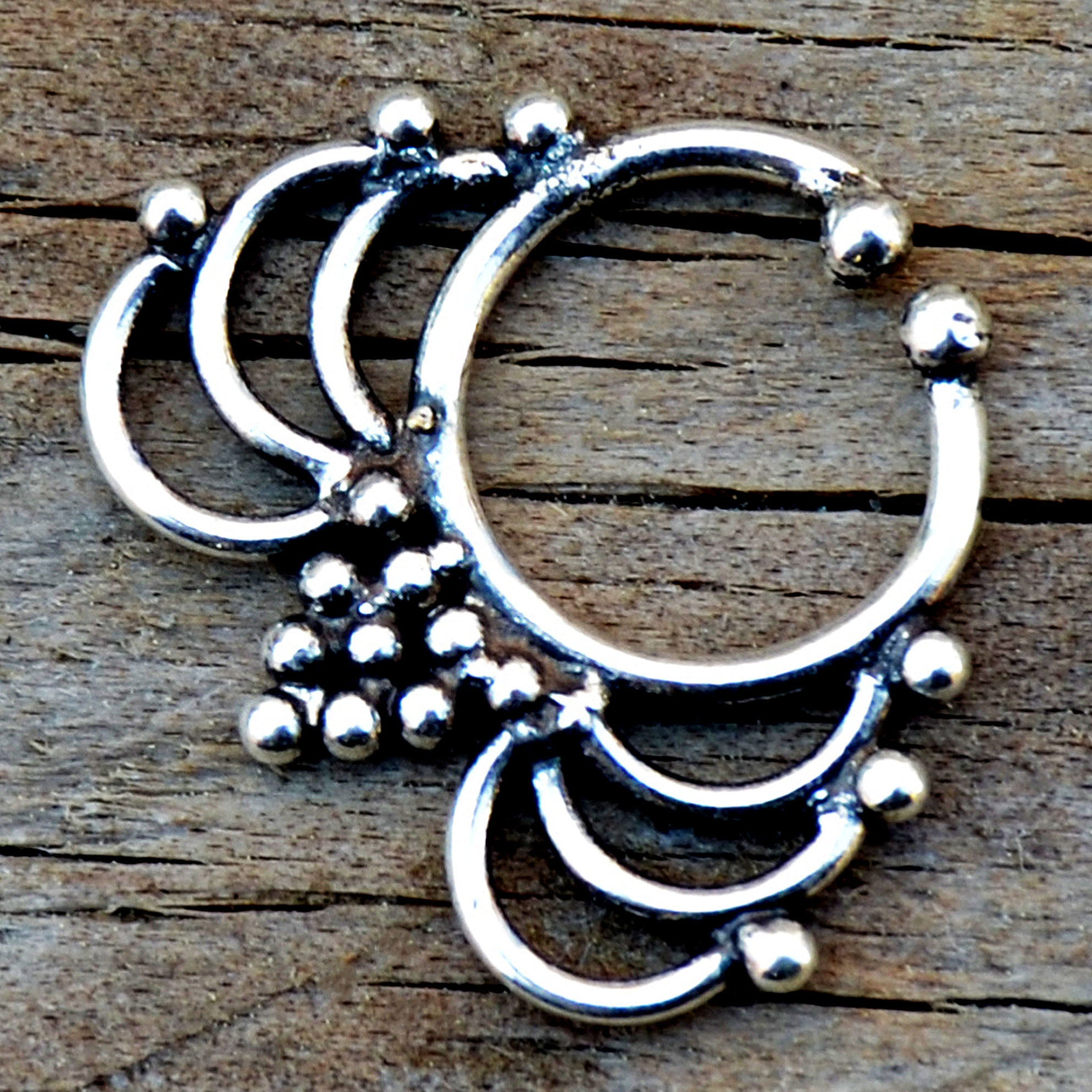 Indian Silver Septum Ring