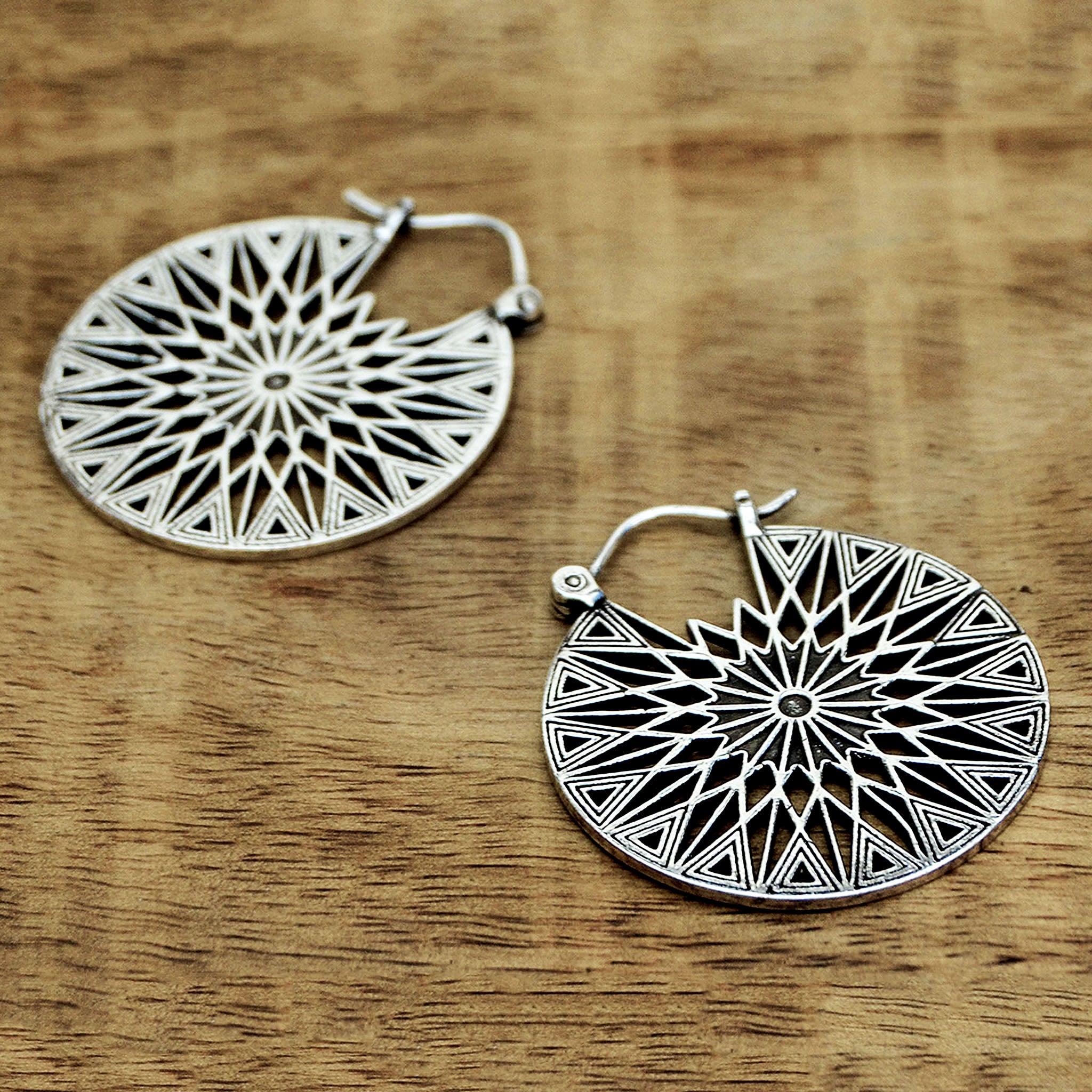 Antique mexico earrings