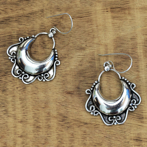 Ornate Tribal Earrings