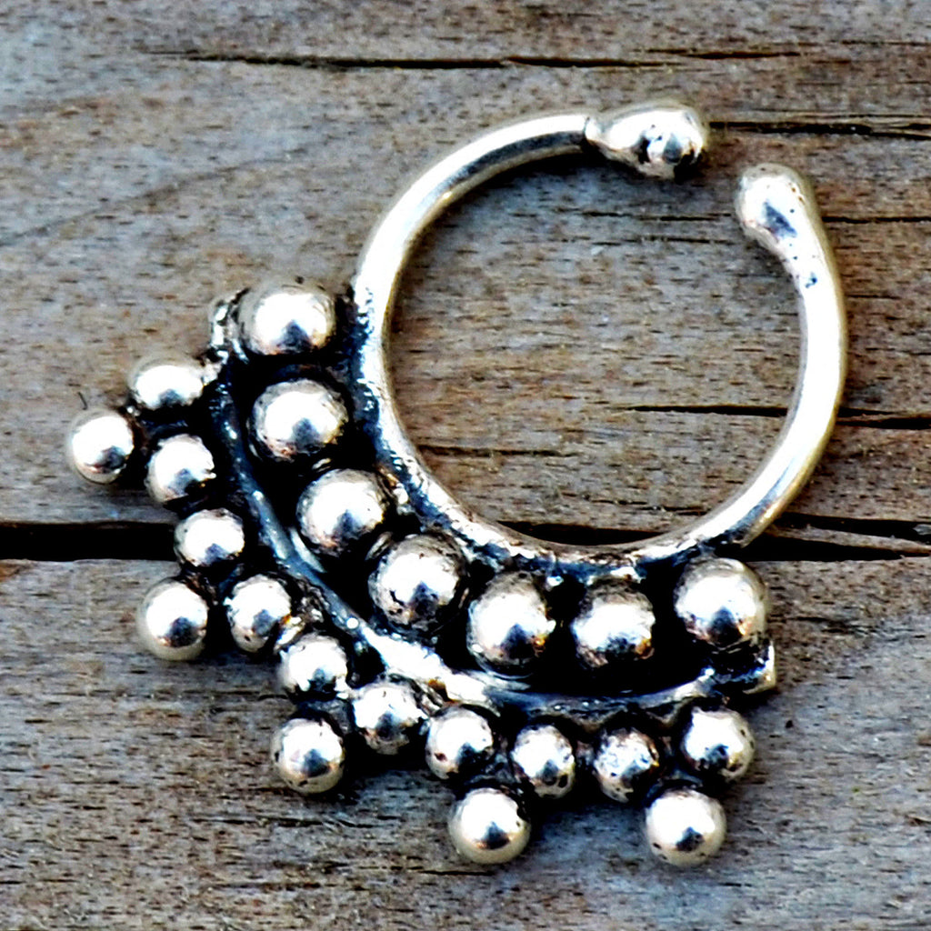 Tribal septum ring