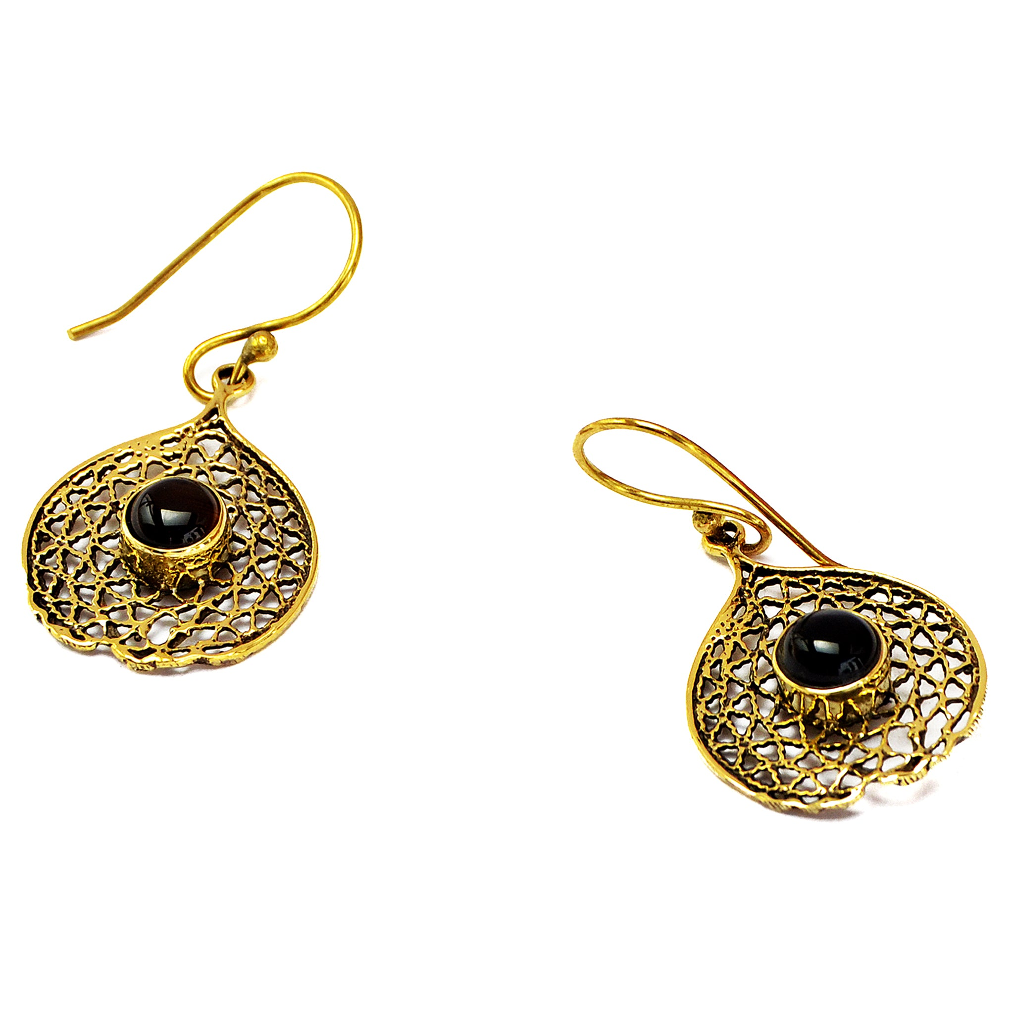 Indian earrings gold