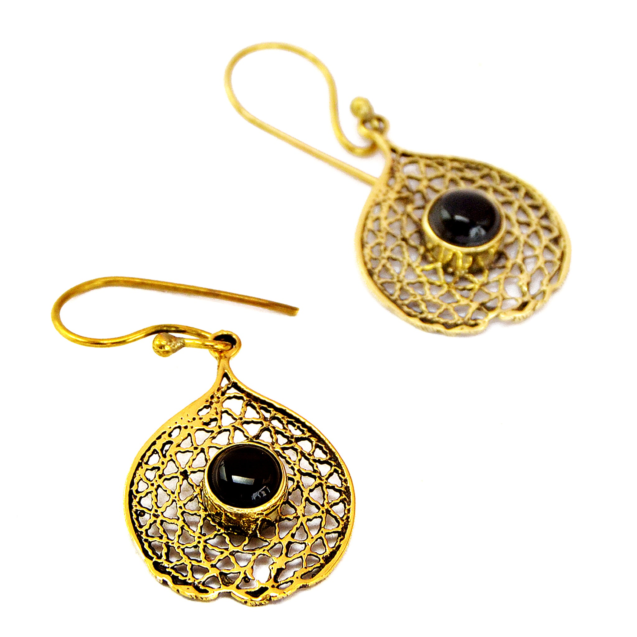 Indian earrings with stone