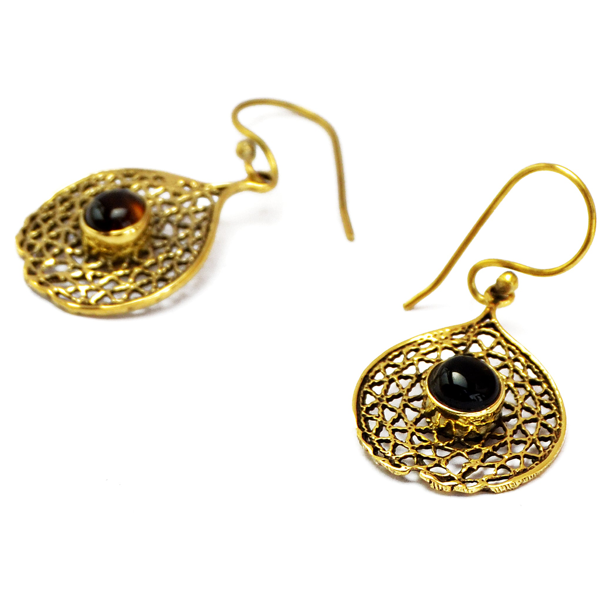 Delicate filigree earrings