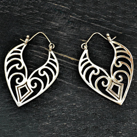 Tribal Maori Earrings