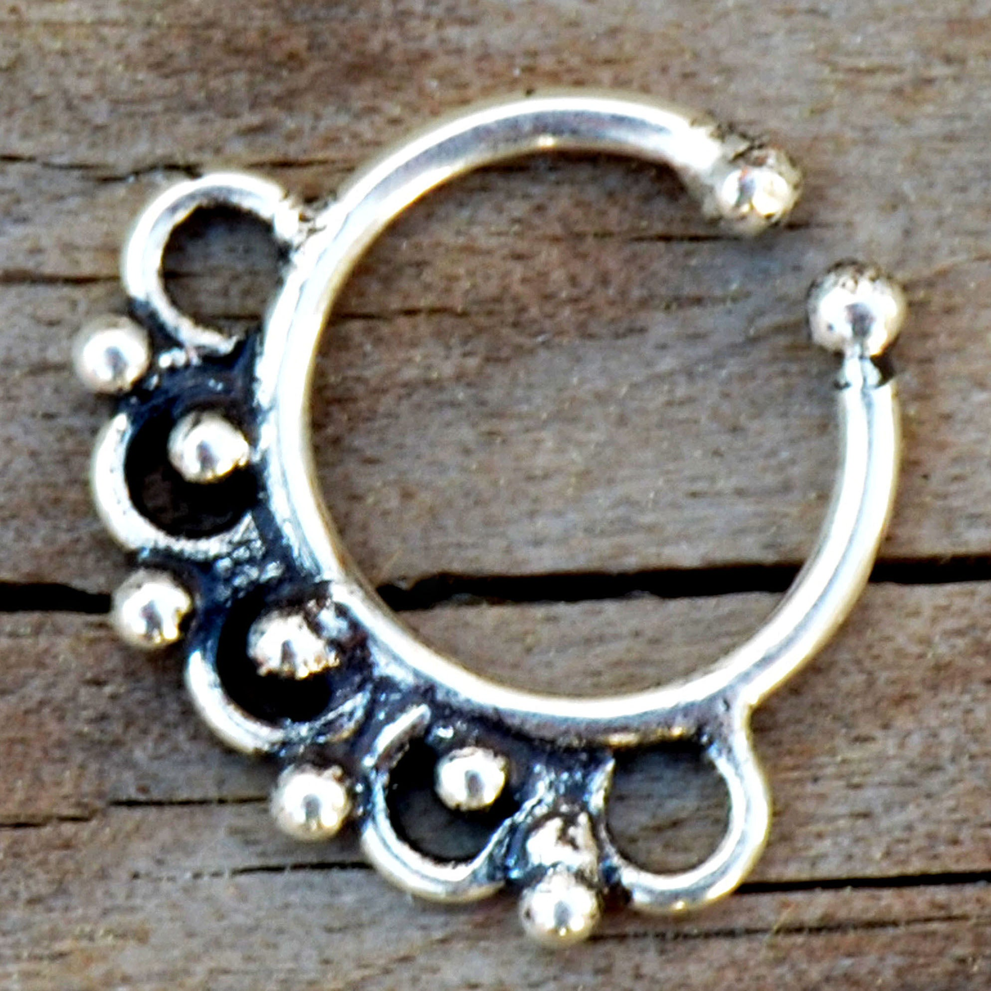 Indian Silver Septum