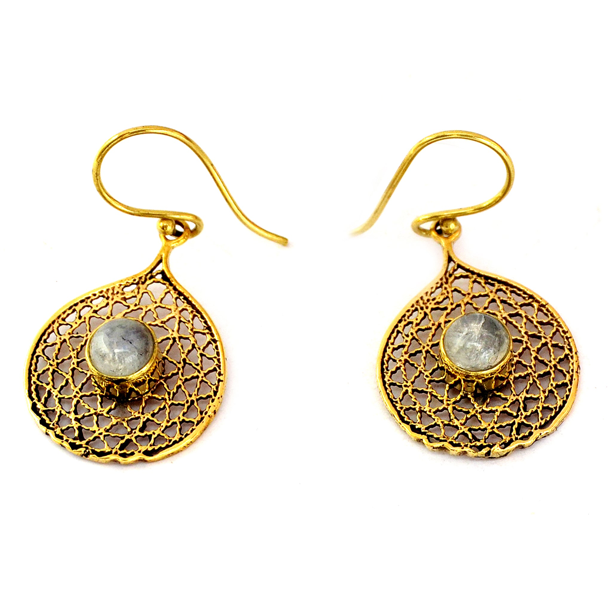 Gypsy filigree earrings