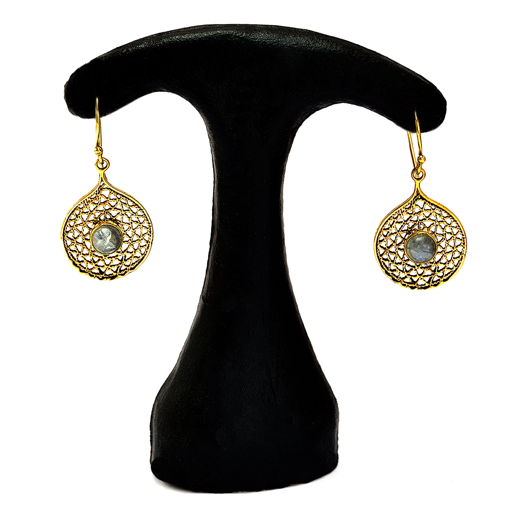 Indian filigree earrings