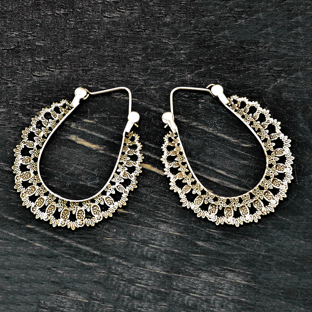 Gypsy Hoop Earrings