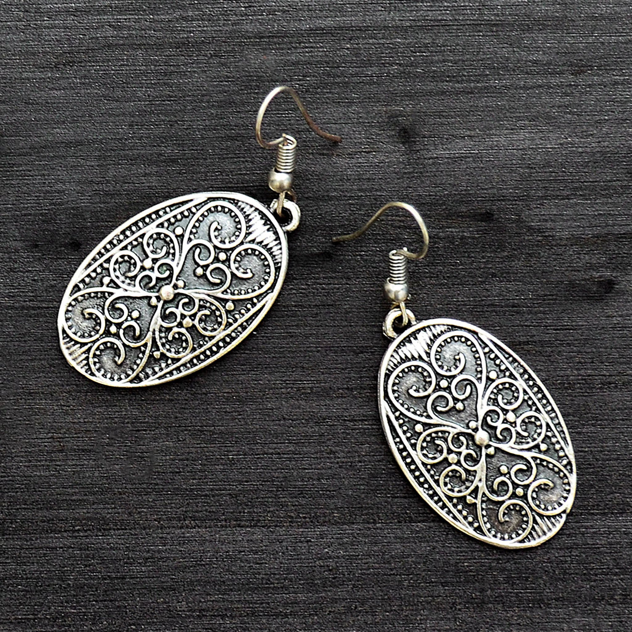 Tribal turkish earrings