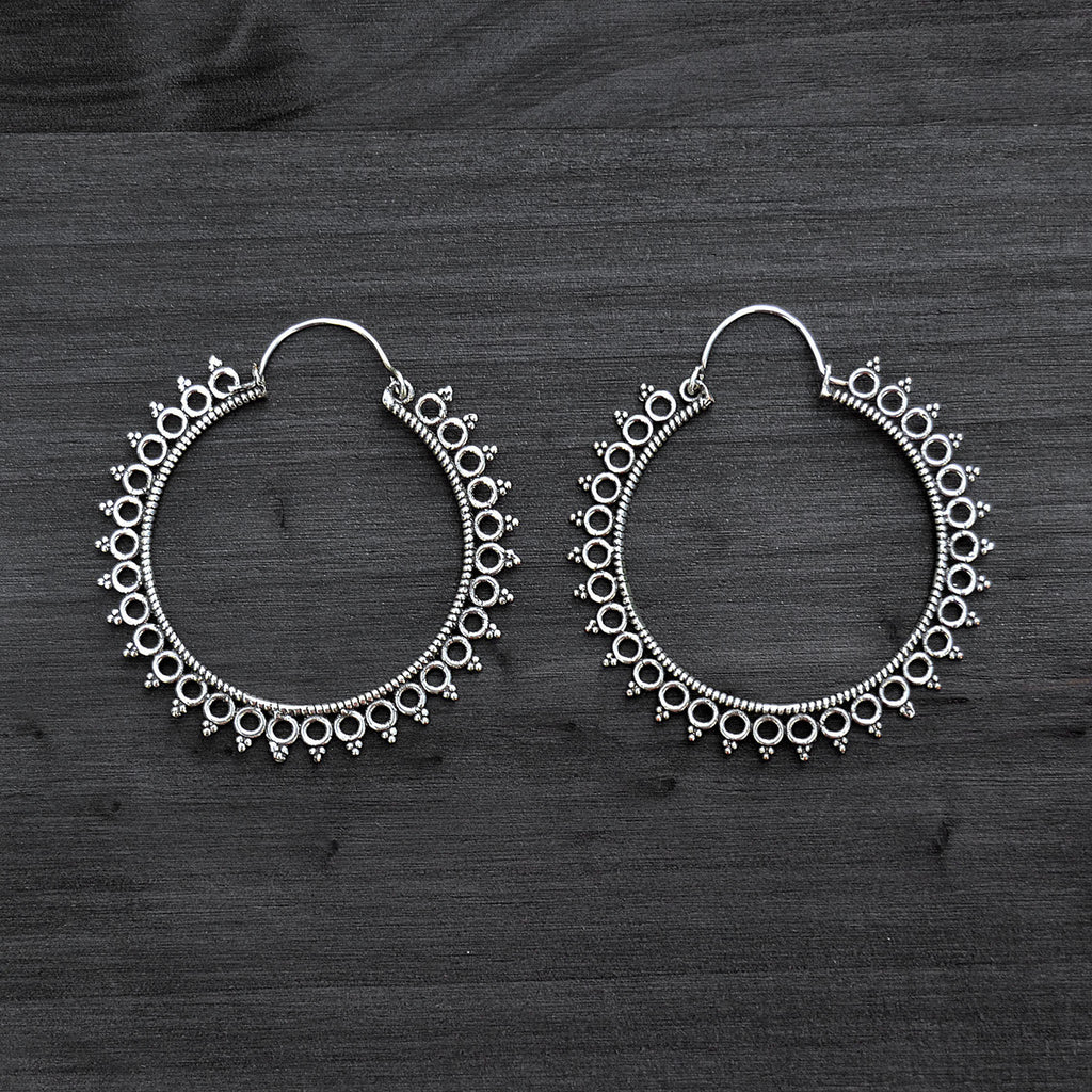 Banjara indian earrings