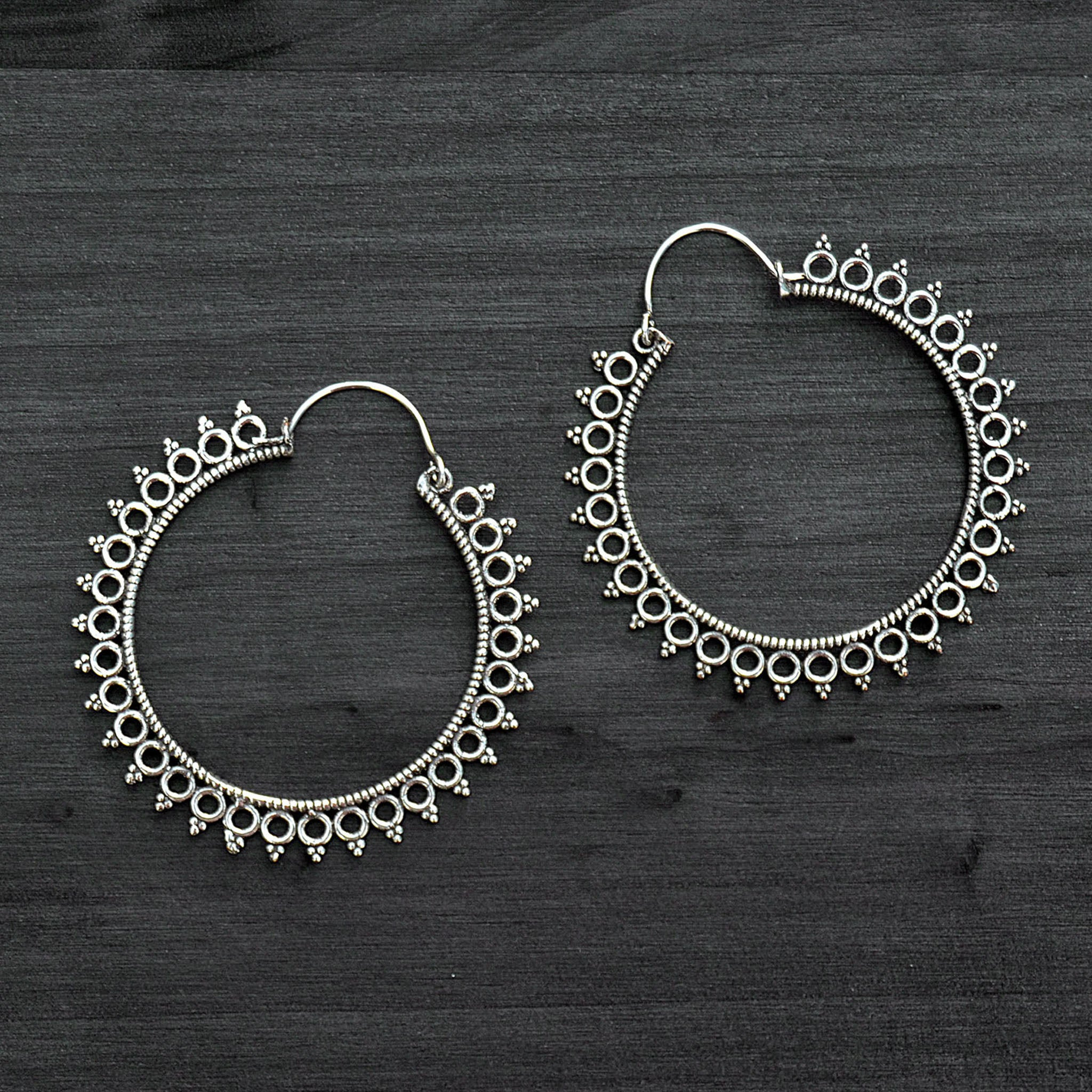 Tribal banjara earrings