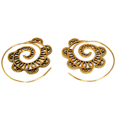 Hoop Gold Earrings