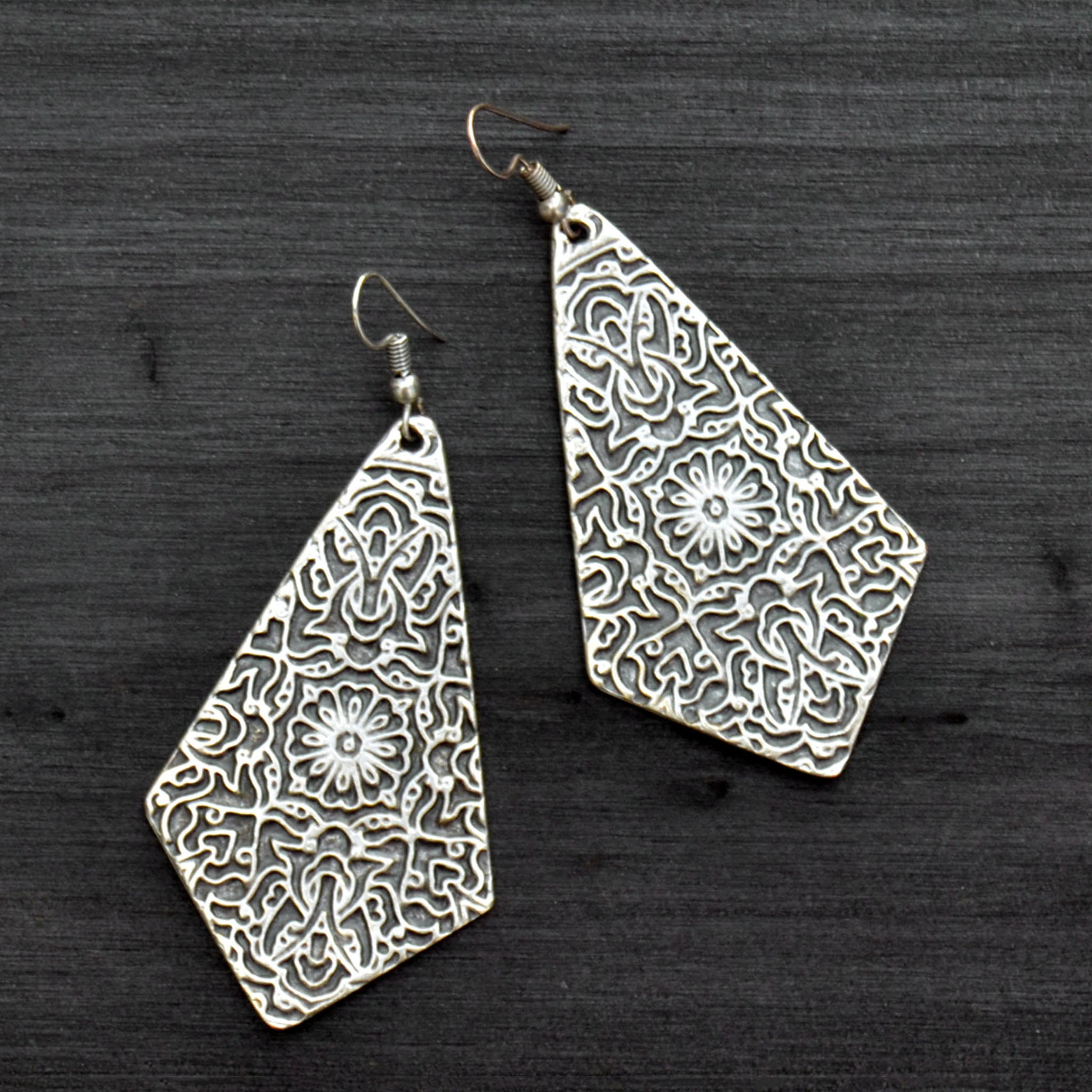 Boho tribal earrings