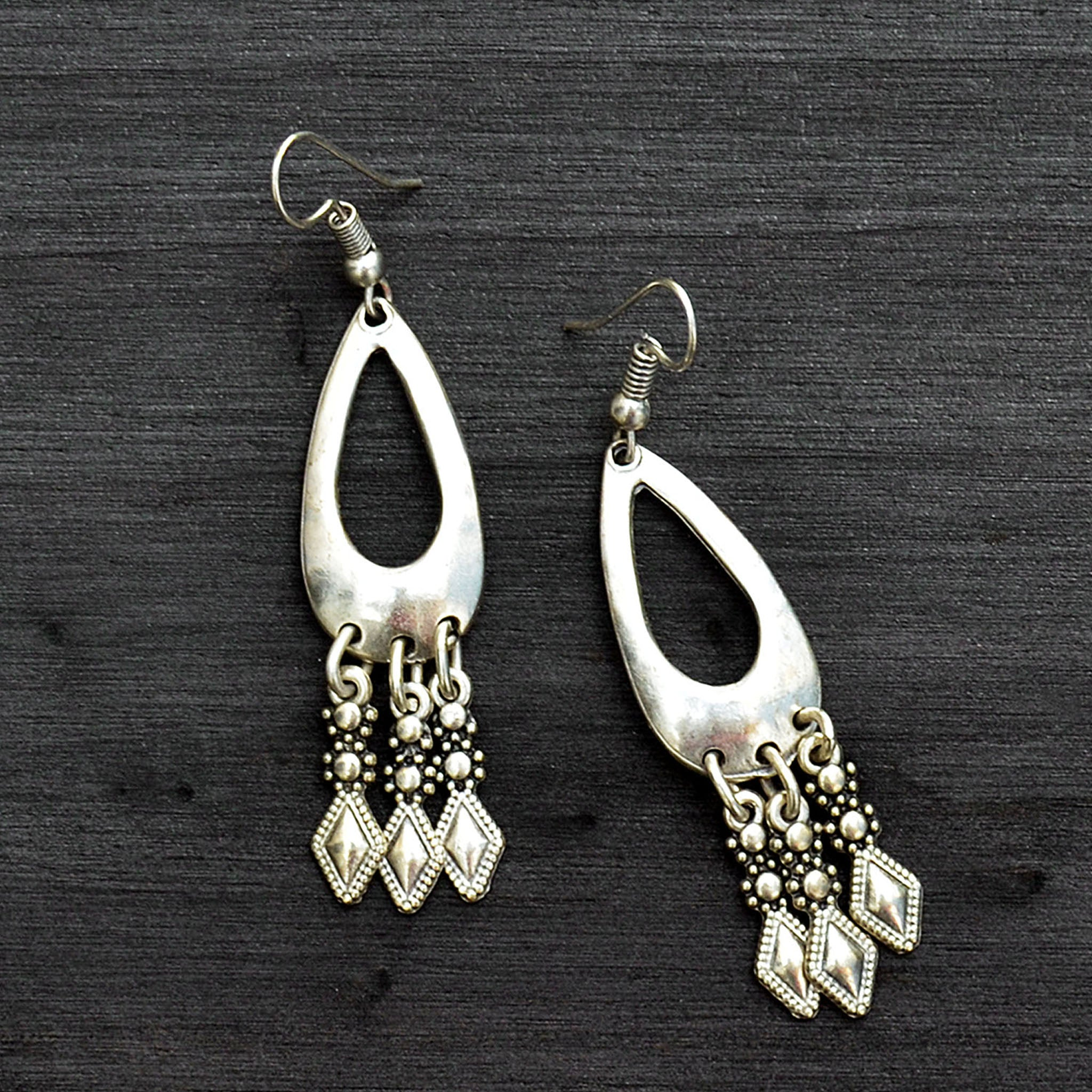 Turkish chandelier earrings