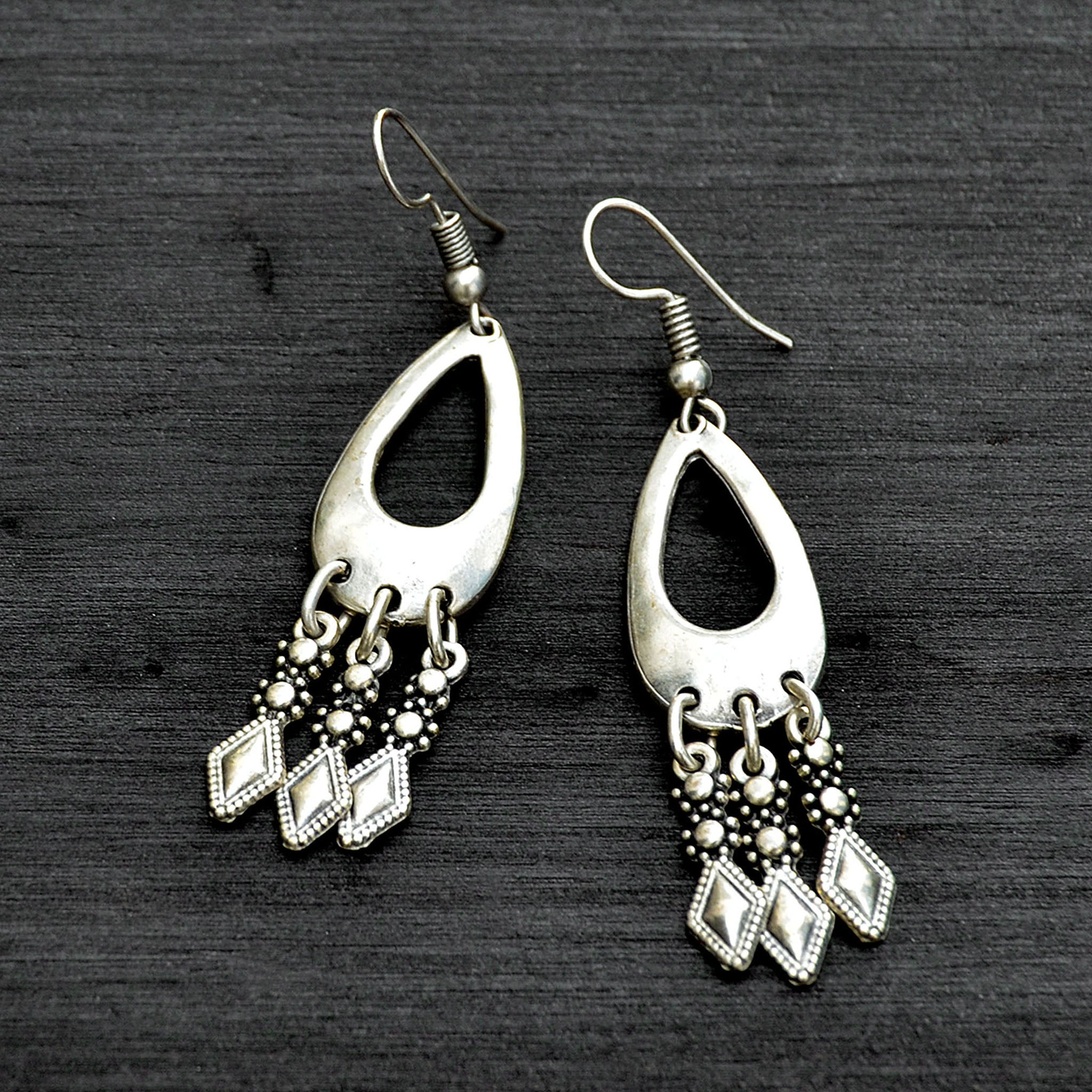 Antique turkish earrings