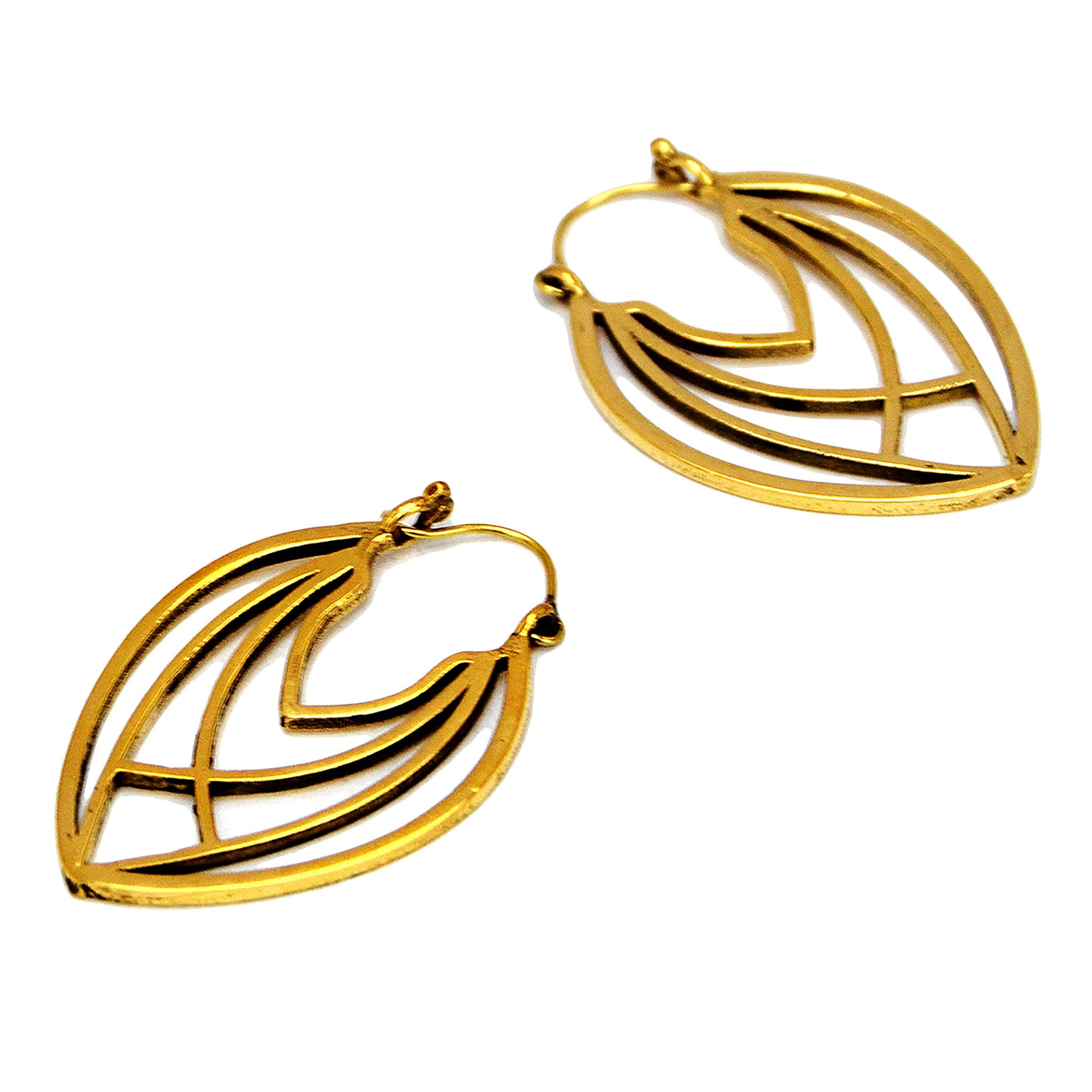 Ethnic geometric earrings