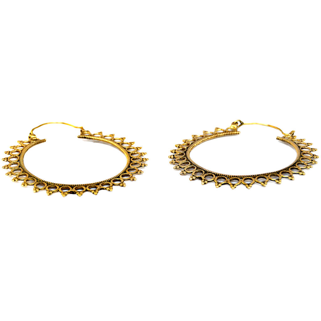 Large banjara hoops