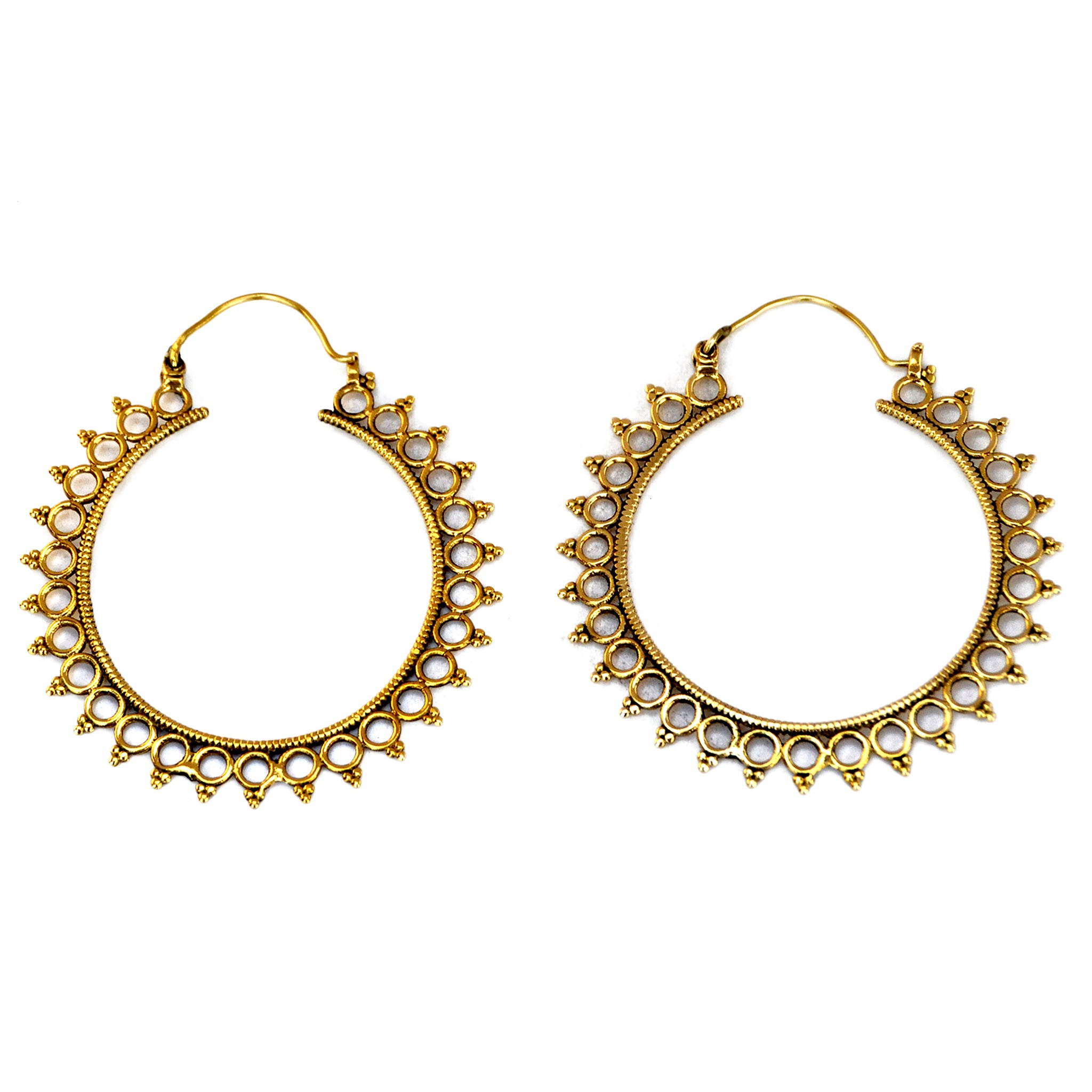 elegant rajasthani lakh handicraft earrings cilory