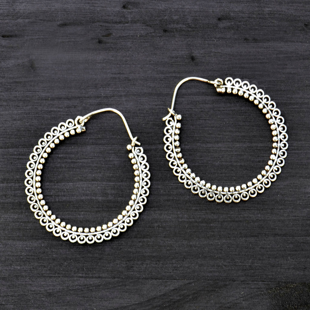 Indian banjara earrings
