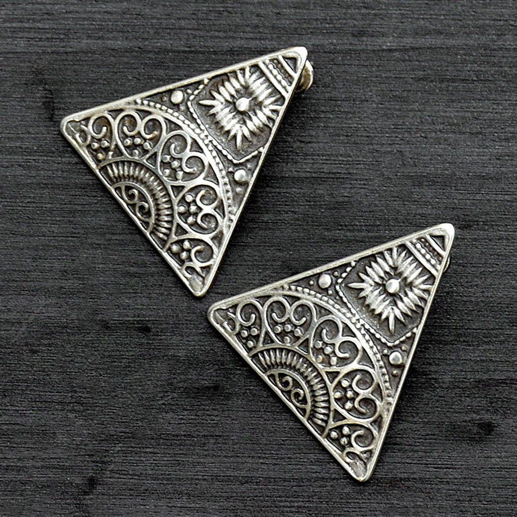 Tribal boho earrings