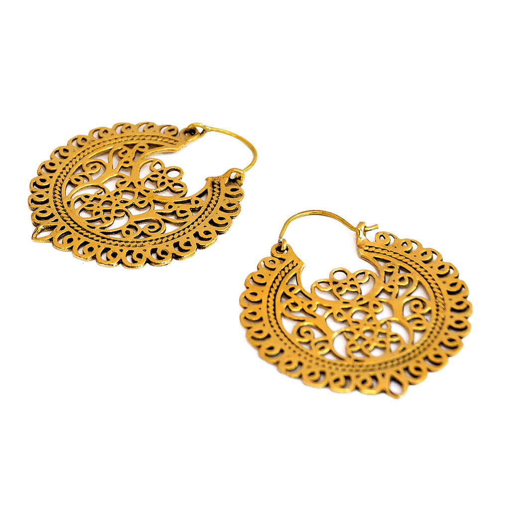 Ornate Filigree Earrings