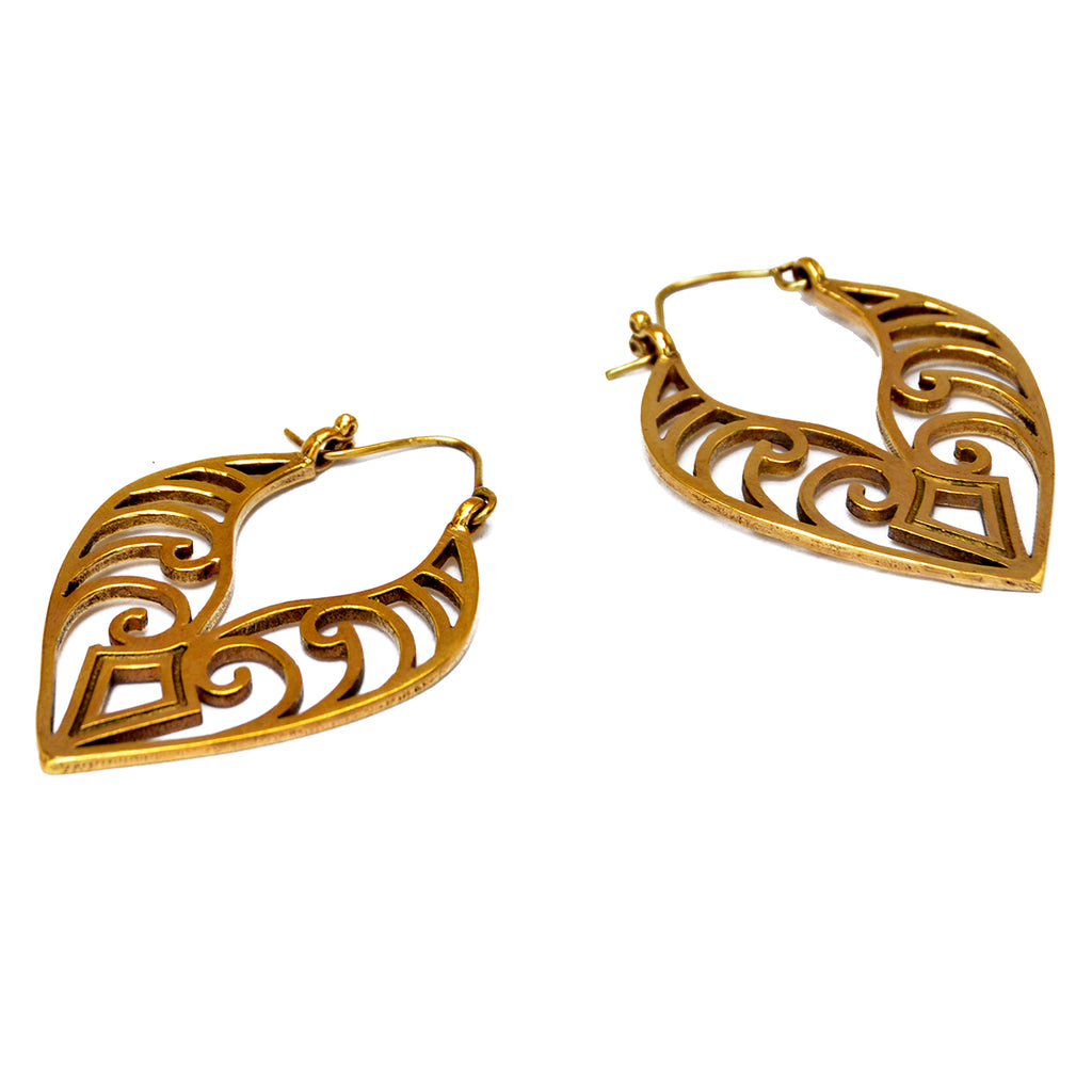 Large maori earrings