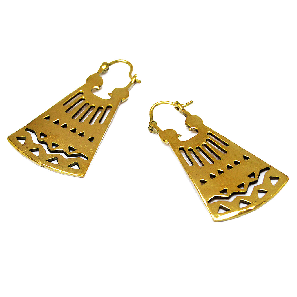 aztec earrings