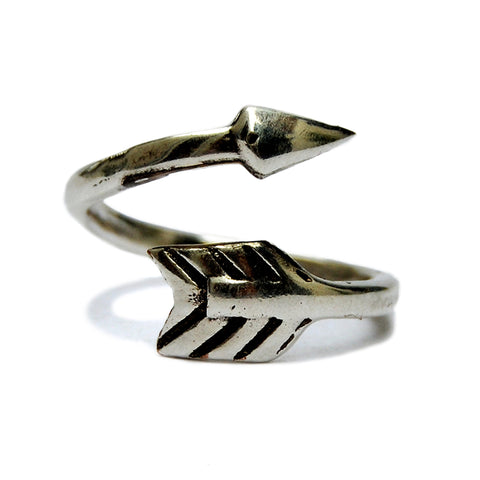 Tribal arrow ring