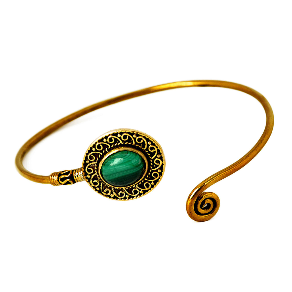 Banjara gold bangle