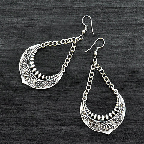 Gypsy drop earrings