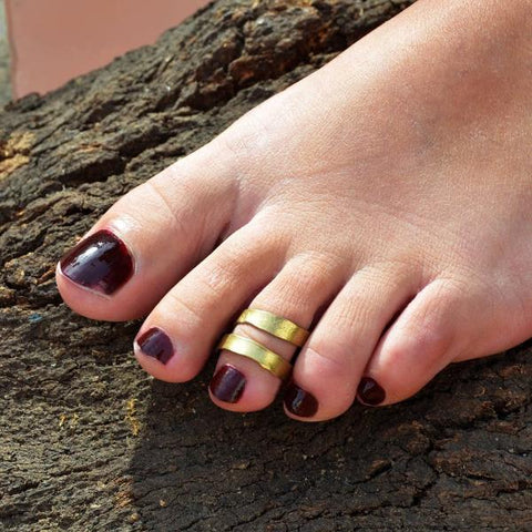 Gypsy ring for toe