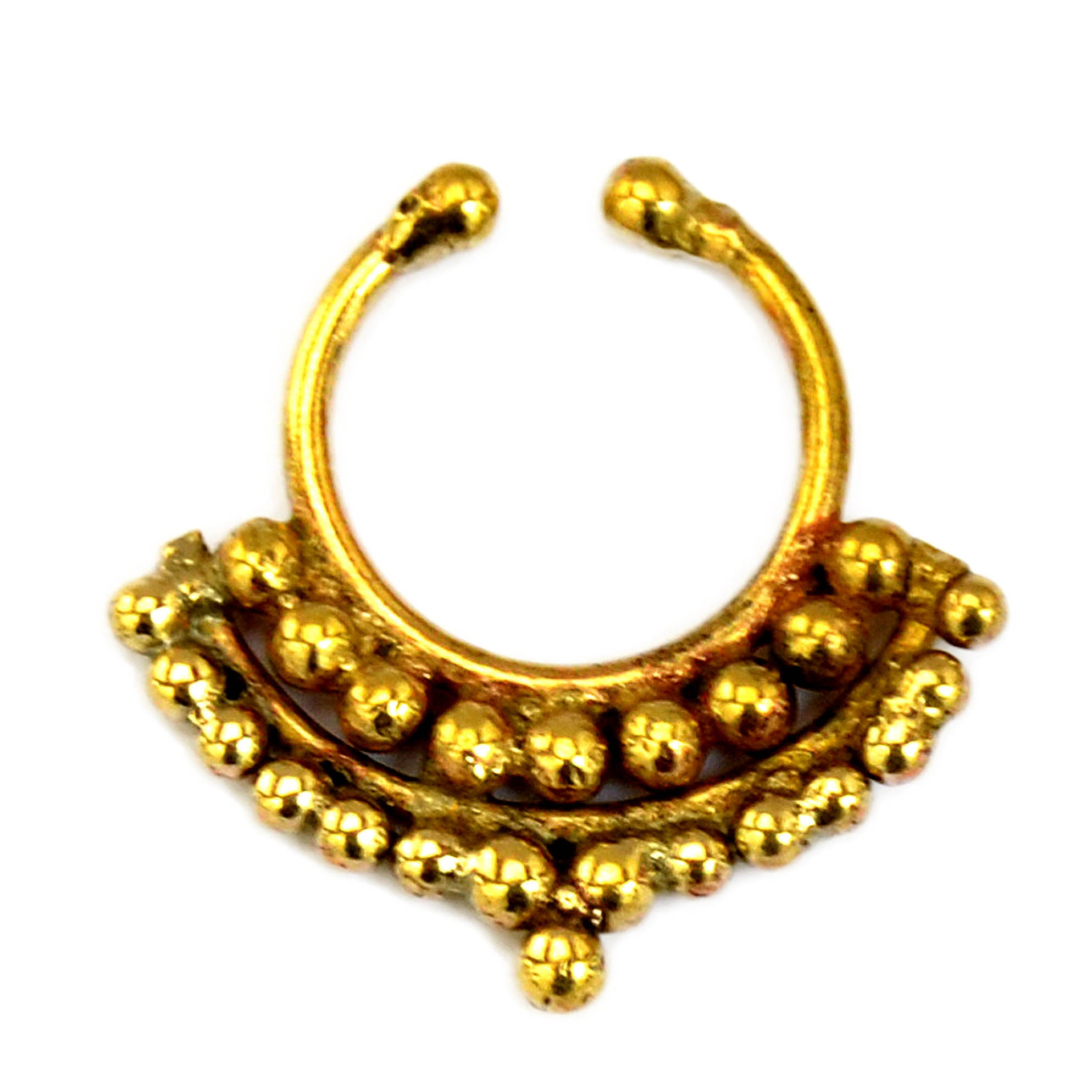 Gold indian septum