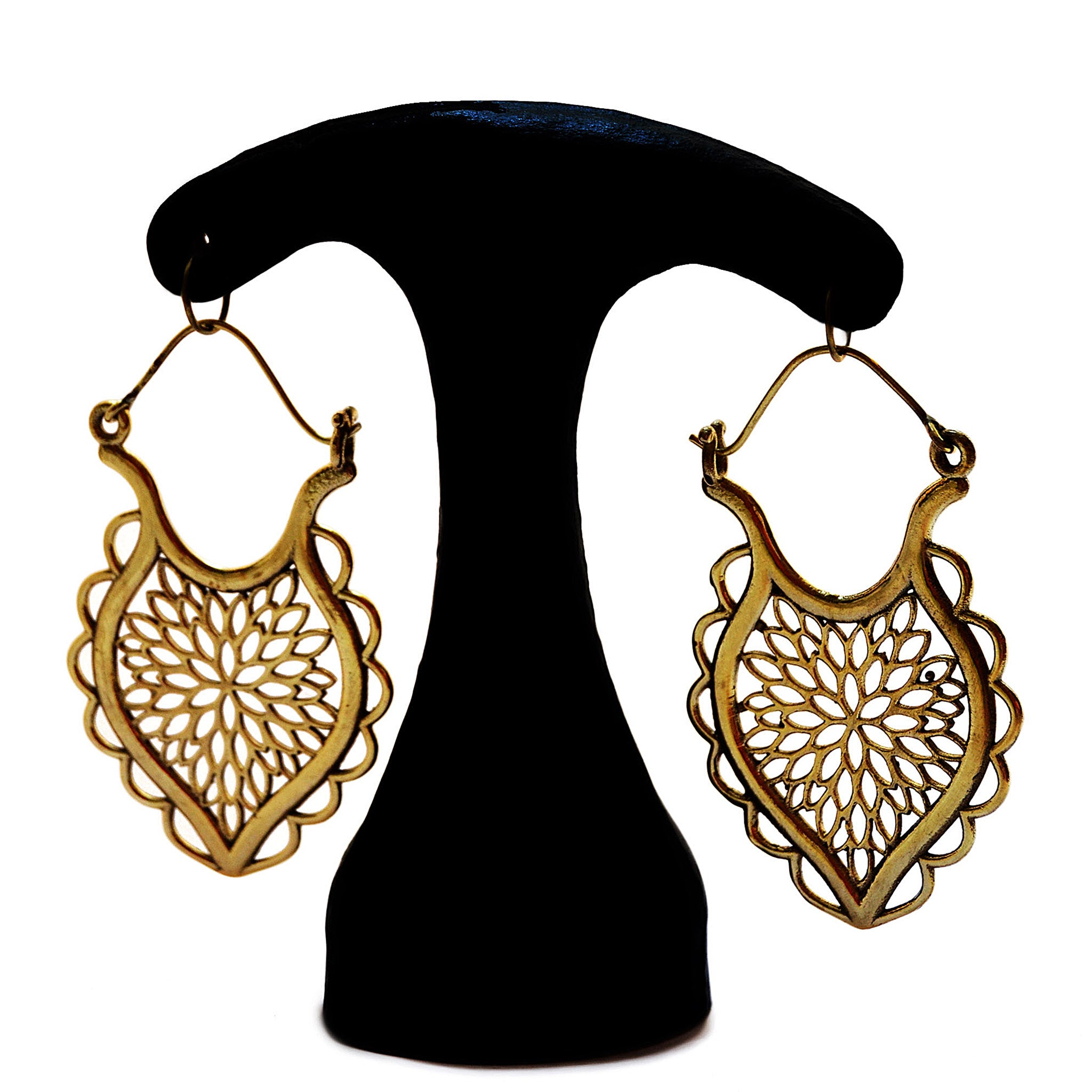 Ornate indian earrings