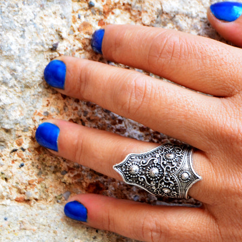 Gypsy tribal ring